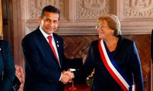 Humala y Bachelet